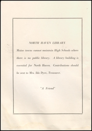 Page 6, 1939 Edition, North Haven High School - Pilot Yearbook (North Haven, ME) online yearbook collection