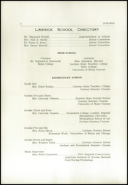 Page 6, 1954 Edition, Limerick High School - Sokokis Yearbook (Limerick, ME) online yearbook collection