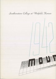 Page 6, 1942 Edition, Southwestern College - Moundbuilder Yearbook (Winfield, KS) online yearbook collection