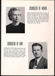 Page 11, 1951 Edition, Southwestern College - Moundbuilder Yearbook (Winfield, KS) online yearbook collection