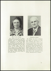 Page 7, 1950 Edition, Mattawamkeag High School - Golden Key Yearbook (Mattawamkeag, ME) online yearbook collection