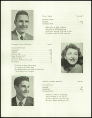 Page 10, 1953 Edition, Mattawamkeag High School - Golden Key Yearbook (Mattawamkeag, ME) online yearbook collection