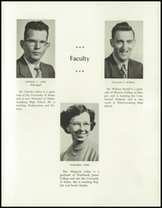Page 9, 1953 Edition, Mattawamkeag High School - Golden Key Yearbook (Mattawamkeag, ME) online yearbook collection