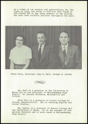 Page 9, 1954 Edition, Mattawamkeag High School - Golden Key Yearbook (Mattawamkeag, ME) online yearbook collection