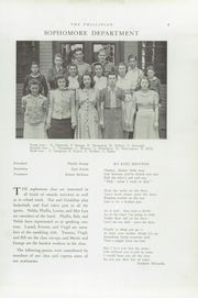 Page 11, 1941 Edition, Phillips High School - Phillipian Yearbook (Phillips, ME) online yearbook collection