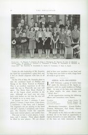 Page 14, 1941 Edition, Phillips High School - Phillipian Yearbook (Phillips, ME) online yearbook collection