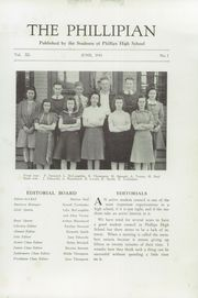 Page 5, 1941 Edition, Phillips High School - Phillipian Yearbook (Phillips, ME) online yearbook collection