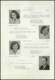 Page 8, 1944 Edition, Phillips High School - Phillipian Yearbook (Phillips, ME) online yearbook collection