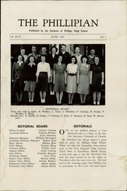 Page 5, 1947 Edition, Phillips High School - Phillipian Yearbook (Phillips, ME) online yearbook collection