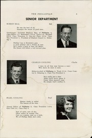 Page 7, 1947 Edition, Phillips High School - Phillipian Yearbook (Phillips, ME) online yearbook collection
