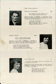 Page 8, 1947 Edition, Phillips High School - Phillipian Yearbook (Phillips, ME) online yearbook collection
