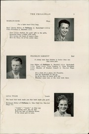 Page 9, 1947 Edition, Phillips High School - Phillipian Yearbook (Phillips, ME) online yearbook collection