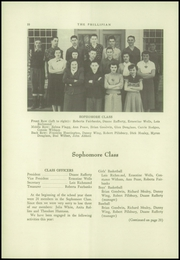 Page 12, 1953 Edition, Phillips High School - Phillipian Yearbook (Phillips, ME) online yearbook collection