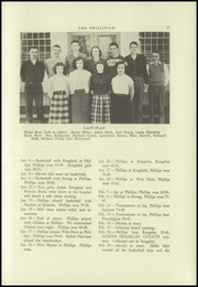 Page 17, 1953 Edition, Phillips High School - Phillipian Yearbook (Phillips, ME) online yearbook collection