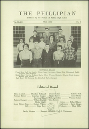 Page 4, 1953 Edition, Phillips High School - Phillipian Yearbook (Phillips, ME) online yearbook collection