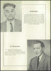 Page 3, 1955 Edition, Phillips High School - Phillipian Yearbook (Phillips, ME) online yearbook collection