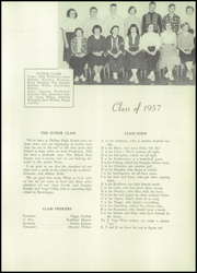 Page 13, 1956 Edition, Phillips High School - Phillipian Yearbook (Phillips, ME) online yearbook collection