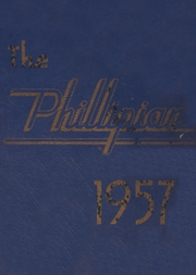 Page 1, 1957 Edition, Phillips High School - Phillipian Yearbook (Phillips, ME) online yearbook collection