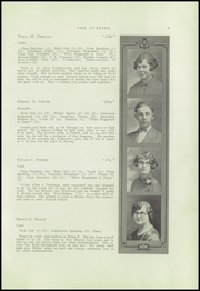 Page 7, 1928 Edition, New Sharon High School - Sunrise Yearbook (New Sharon, ME) online yearbook collection