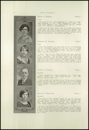 Page 8, 1928 Edition, New Sharon High School - Sunrise Yearbook (New Sharon, ME) online yearbook collection