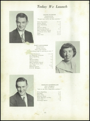 Page 14, 1954 Edition, Canton High School - Cantonia Yearbook (Canton, ME) online yearbook collection