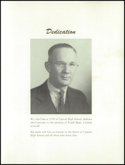 Page 3, 1958 Edition, Canton High School - Cantonia Yearbook (Canton, ME) online yearbook collection
