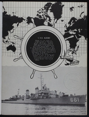 Page 3, 1953 Edition, Kidd (DDG 661) - Naval Cruise Book online yearbook collection