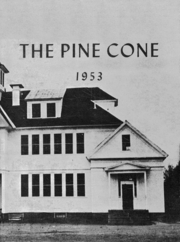 1953 Edition, Cornish High School - Pine Cone Yearbook (Cornish, ME)
