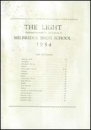 Page 3, 1954 Edition, Milbridge High School - Light Yearbook (Milbridge, ME) online yearbook collection