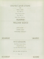 Page 93, 1951 Edition, West Paris High School - Nautilus Yearbook (West Paris, ME) online yearbook collection