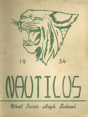 1954 Edition, West Paris High School - Nautilus Yearbook (West Paris, ME)