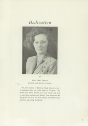 Page 3, 1953 Edition, Medway High School - Nicatou Yearbook (Medway, ME) online yearbook collection