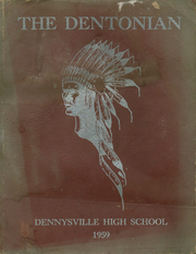 1959 Edition, Dennysville High School - Dentonian Yearbook (Dennysville, ME)