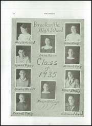 Page 8, 1935 Edition, Brooksville High School - Breeze Yearbook (Brooksville, ME) online yearbook collection