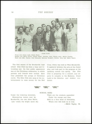 Page 16, 1937 Edition, Brooksville High School - Breeze Yearbook (Brooksville, ME) online yearbook collection