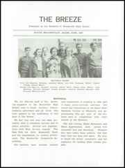 Page 5, 1937 Edition, Brooksville High School - Breeze Yearbook (Brooksville, ME) online yearbook collection
