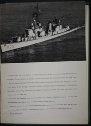 Page 5, 1963 Edition, McCaffery (DDE 860) - Naval Cruise Book online yearbook collection