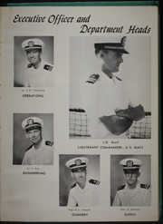 Page 7, 1963 Edition, McCaffery (DDE 860) - Naval Cruise Book online yearbook collection