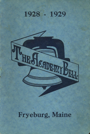 Fryeburg Academy - Academy Bell Yearbook (Fryeburg, ME) online yearbook collection, 1929 Edition, Page 1