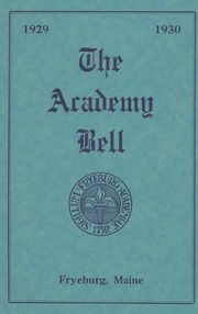 Fryeburg Academy - Academy Bell Yearbook (Fryeburg, ME) online yearbook collection, 1930 Edition, Page 1