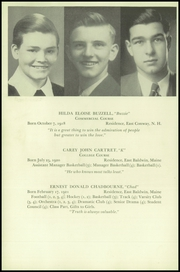 Page 10, 1938 Edition, Fryeburg Academy - Academy Bell Yearbook (Fryeburg, ME) online yearbook collection