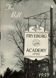 Page 5, 1959 Edition, Fryeburg Academy - Academy Bell Yearbook (Fryeburg, ME) online yearbook collection