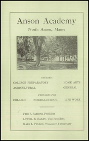Page 12, 1929 Edition, Anson Academy - Anchor Yearbook (North Anson, ME) online yearbook collection