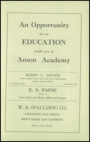 Page 7, 1929 Edition, Anson Academy - Anchor Yearbook (North Anson, ME) online yearbook collection