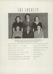 Page 4, 1945 Edition, Anson Academy - Anchor Yearbook (North Anson, ME) online yearbook collection