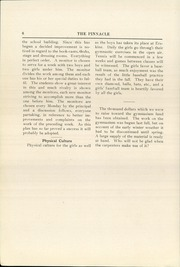 Page 10, 1923 Edition, Erskine Academy - Pinnacle Yearbook (South China, ME) online yearbook collection