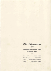 Page 7, 1944 Edition, University of Maine at Farmington - Yearbook (Farmington, ME) online yearbook collection