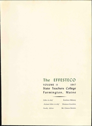 Page 7, 1947 Edition, University of Maine at Farmington - Yearbook (Farmington, ME) online yearbook collection