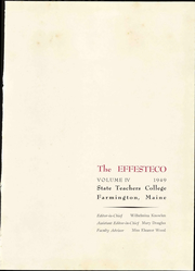 Page 7, 1949 Edition, University of Maine at Farmington - Yearbook (Farmington, ME) online yearbook collection