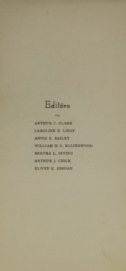 Page 9, 1901 Edition, Bates College - Mirror Yearbook (Lewiston, ME) online yearbook collection